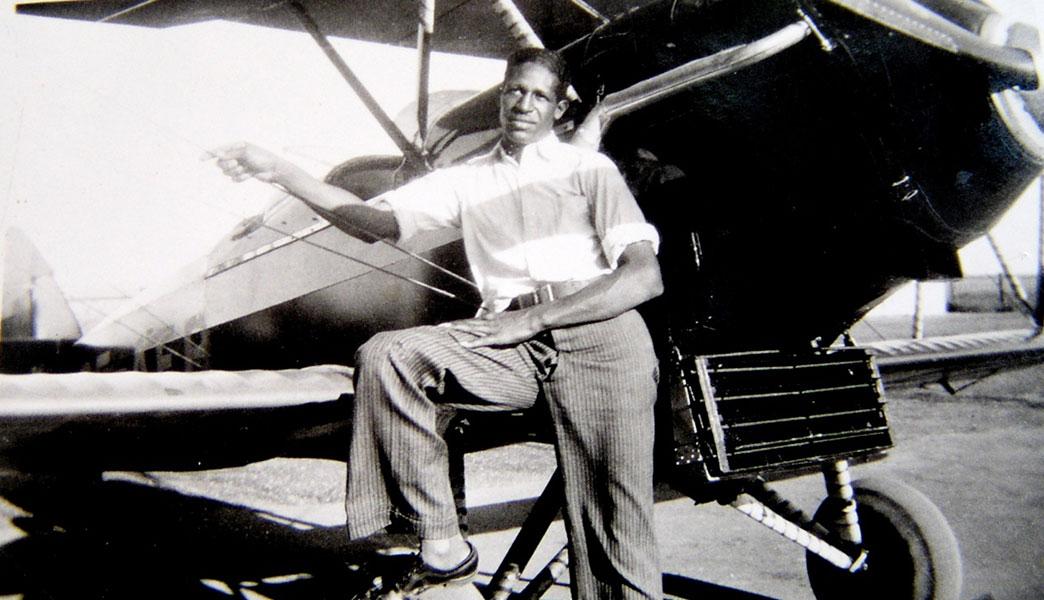 frank mann pilot
