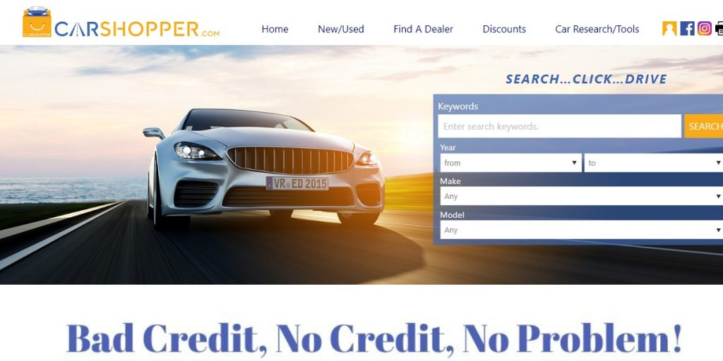 carshopper website