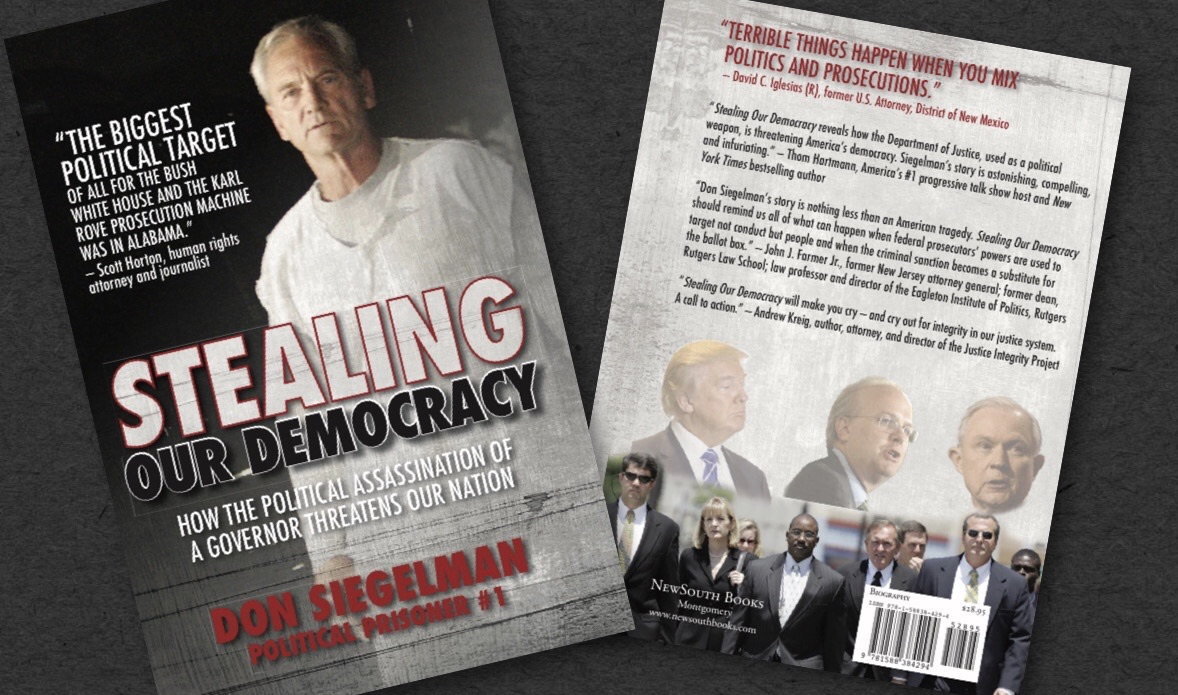 Stealing our democracy cover