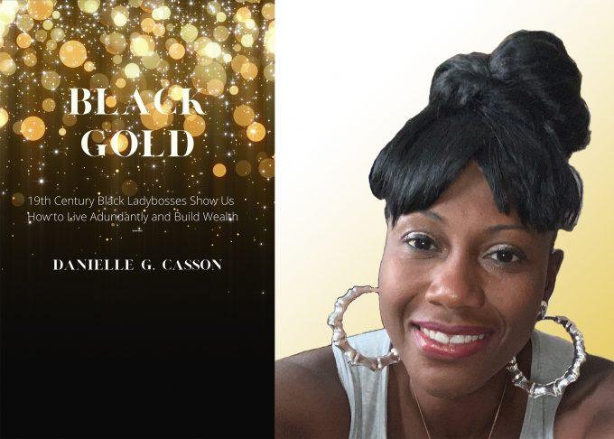 Danielle Casson Black Gold